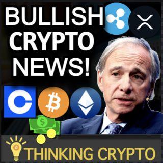 Coinbase Junk Bonds & Crypto Futures - Ray Dalio Bitcoin - SEC Gary Gensler Ripple XRP Lawsuit!
