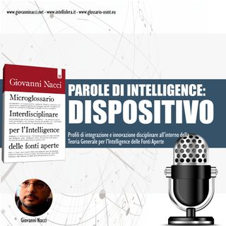 Parole di Intelligence: DISPOSITIVO