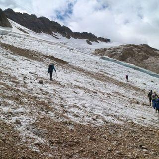 Marmolada, in cento anni il ghiacciaio ha perso il 90% del suo volume
