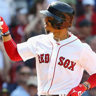 All-StarMookie Betts Making History For Red Sox