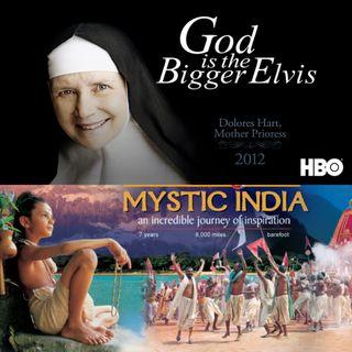 """Sesión de cine en línea """"Dios es mas grande que Elvis"""" e """"India mística"""" Comentarios de David Hoffmeister traducidos por Marina Colombo"""