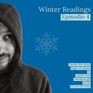 Winter readings | Letture da I pesci non chiudono gli occhi di Erri De Luca