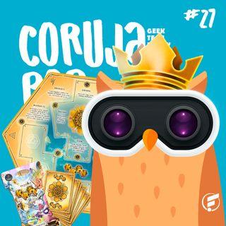 Coruja POP #27  Conheça o Board Game KRON e tudo sobre o universo dos jogos de mesa!