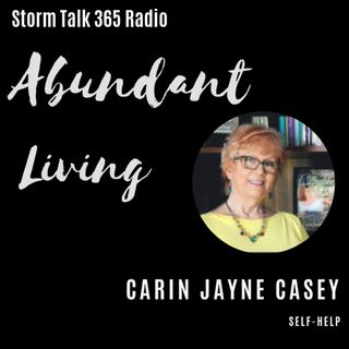 Abundant Living w/Carin - Press on