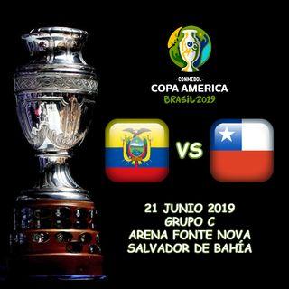 Ecuador vs Chile en VIVO