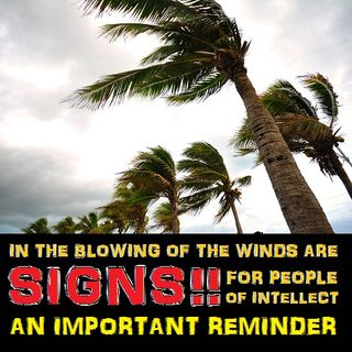 The Winds are Among Allah's Great Signs, Do Not Be Oblivious!