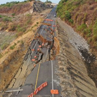 SCT informó que se mantiene cerrada la autopista Siglo XXI Morelia-Lázaro Cárdenas