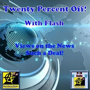 Twenty Percent Off! Podcast - 2019-05-23 - What do we disagree about? That covers about everything.