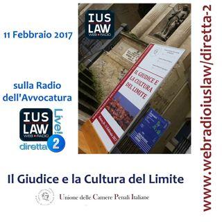 Il Giudice e la Cultura del Limite - Matera, 11 Febbraio 2017