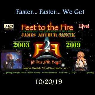F2F Radio - 191020 - Faster Johnny...