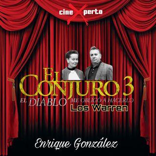 """CineXperto """" El Conjuro 3 - El Diablo me obligo a hacerlo"""""""