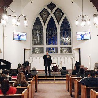 Pastor Enrique Mellado tema Jonas desde la Profundidad 11 de Agosto 2019