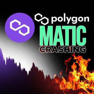 211. Bitcoin Crashing Polygon | MATIC Plummeting 📉🔥