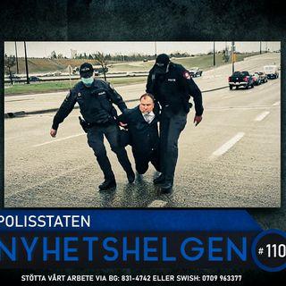 Nyhetshelgen 110 – Polisstaten, peak fördumning, experimenten fortsätter