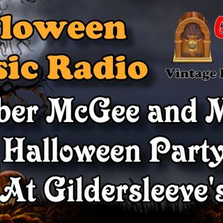 Fibber McGee and Molly, Halloween Party At Gildersleeve's 1939 | Good Old Radio #halloween #ClassicRadio
