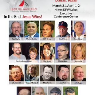 HOPE TO SEE YOU IN DALLAS IN LATE MARCH