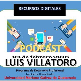 Audio Podcast Luis Villatoro
