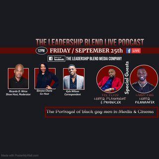 Season Two, Episode eight: Black Gay Men's portrayal in media w Tre Floyd & Lando King