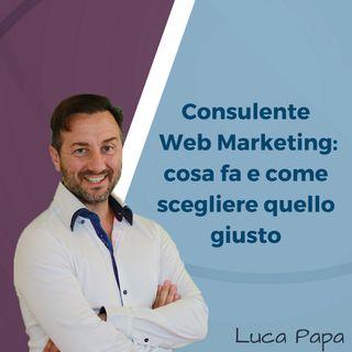 Consulente Web Marketing cosa fa e come scegliere quello giusto