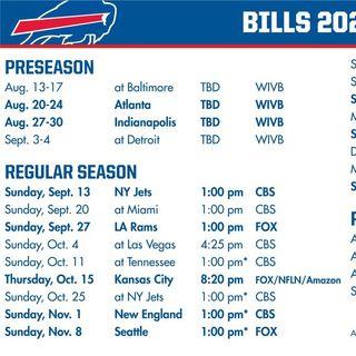 C1 BUF- Buffalo Bills 2020 Schedule Release Reaction Show
