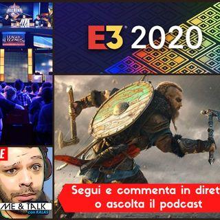 #09 Assassin's Creed Valhalla ne parliamo un po' insieme | Twitch diventa una eSport TV | E3 2020 come si farà?