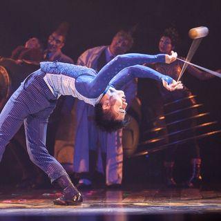 Inside the Cirque Du Soleil Kurios tent