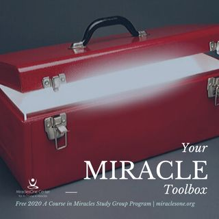 Miracle Toolbox Week 25 | The Voice of Forgiveness