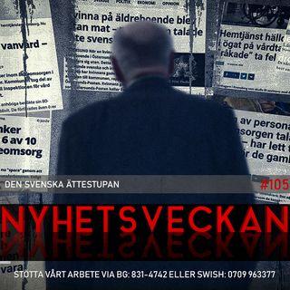 Nyhetsveckan 105 – Den svenska ättestupan, Tegnell tappar glorian, Nobels fredspris till Trump?