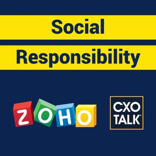 Social Impact, Corporate Social Responsibility and Sustainability with Zoho CEO Sridhar Vembu