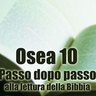 Osea 10