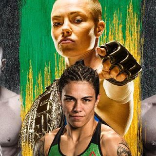 Preview Of UFC 237 Headlined By Rose Namajunas-Jessica Andrade For The Strawweight Title!Plus Anderson Silva And Jose Aldo Fighting!!!