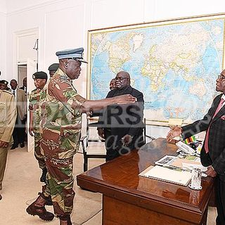 President Mugabe addresses the nation