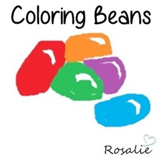 Coloring Beans for Art