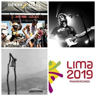 """Juegos Panamericanos 2019, """"Salvado por la campana"""", Sierre Zinal 2019 - Jornet, Inés Bayo, Gustavo Cerati."""