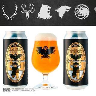 La birra ufficiale di Game of Thrones arriva per festeggiare il decimo anniversario della serie tv