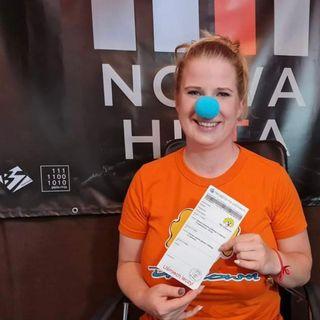 Podcast z małopolską koordynatorką organizacji Dr Clown, Justyną Młynarczyk