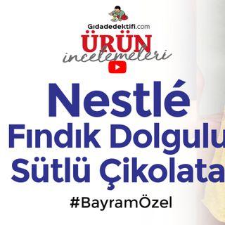 Nestlé 1927 Fındık Dolgulu Sütlü Çikolata