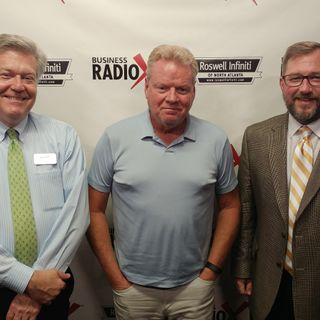 Kevin Bryant with Canton Place Development and John Herbert with the Herbert Legal Group