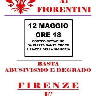 12 maggio - Firenze - MANIFESTAZIONE AUTORIZZATA