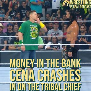 Money In the Bank: John Cena Crashes In On The Tribal Chief KOP071921-627
