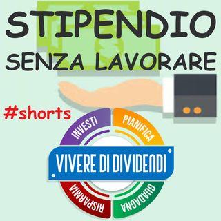 STIPENDIO SENZA LAVORARE (no clickbait) #shorts