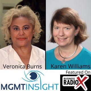 Veronica Burns and Karen Williams, MGMTinsight