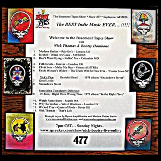 Show #477 - September 13, 2020