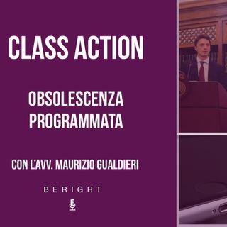 XI app. - Class action, Obsolescenza programmata
