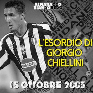 15 ottobre 2005 - L'esordio di Giorgio Chiellini