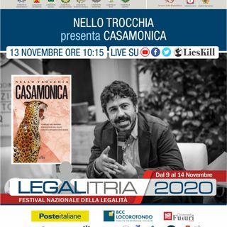 LEGALITRIA 2020 - Casamonica di Nello Trocchia 13 novembre 2020
