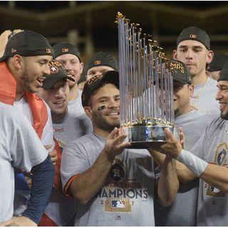 Los  Astros son los nuevos campeones de las Grandes Ligas