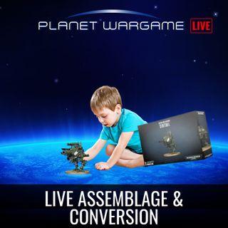 Live assemblage et conversion (et Warhammer +)