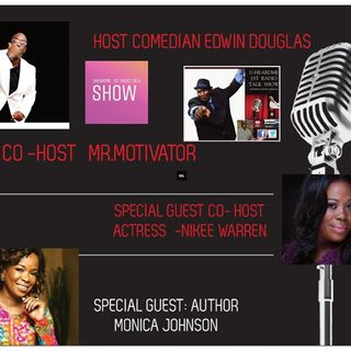 Uheardme1st RADIO TALK SHOW - Author Monica Johnson