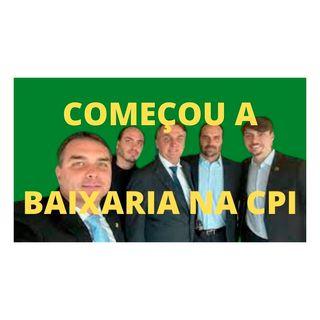 Renan: começou a baixaria bolsonarista na CPI